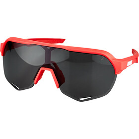 100% S2 Glasses soft tact coral/smoke